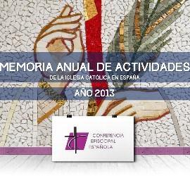Memoria de Actividades de la Iglesia católica