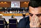 Tsipras en el Eurogrupo.