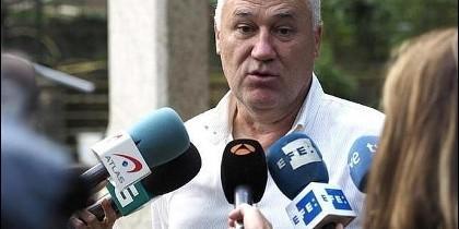 El alcalde de Becerreá, Manuel Martínez.