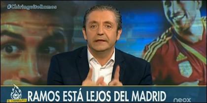 Rubén Amón y Josep Pedrerol.