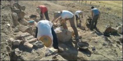 Excavaciones en Alarcos.