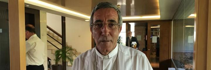 El obispo de Cienfuegos, Monseñor Domingo Oropesa