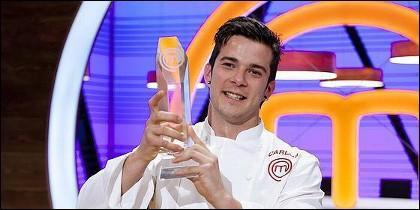 Carlos, ganador de 'MasterChef 3'.