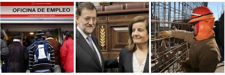 A Mariano Rajoy le da un buen balón de óxigeno la caída del paro en España.