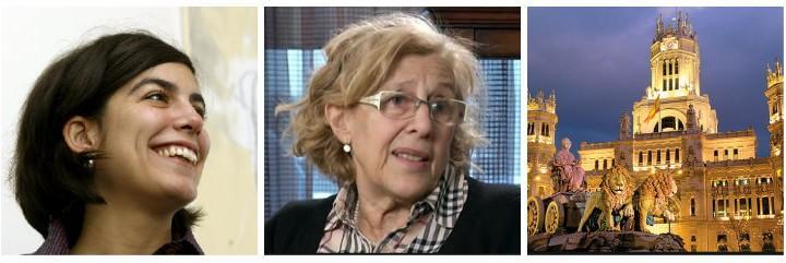La nueva dircom Lucila Rodríguez-Alarcón instala el descontrol en Cibeles.