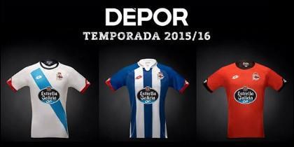 Camisetas Deportivo 2016.