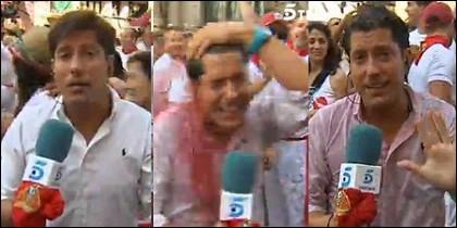 Pello Moriones, reportero de Ana Rosa (Telecinco)