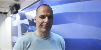 El dimitido ministro de Finanzas griego.