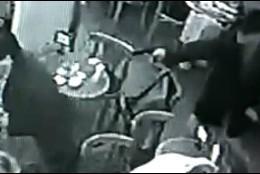 Escena del asesinato de Ernesto 'Tito' González