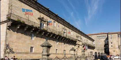 Hospital Real, hoy Hostal de los Reyes Católicos.