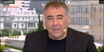 Antonio García Ferreras desde Grecia.