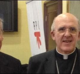 Carlos Osoro y Lluís Martínez Sistach, hoy