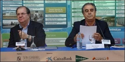 Juan Vicente Herrera y Graciano Palomo.