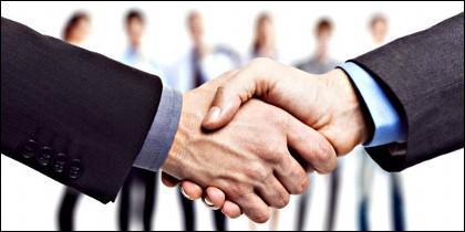 Acuerdo, franquicia, empresa y negocio.
