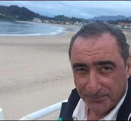 Carlos Herrera, en el Camino de Santiago