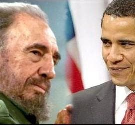 Fidel Castro - Barack Obama