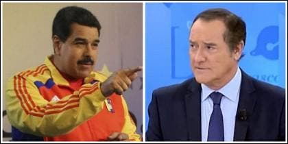 Nicolás Maduro y Antonio Jiménez.