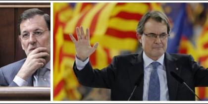 Mariano Rajoy y Artur Mas.