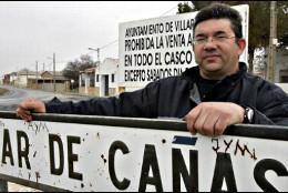 El alcalde de Villar de Cañas (PP), José María Saiz.