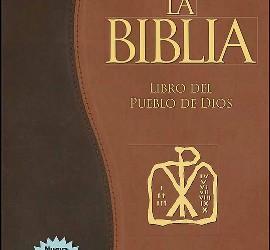 La Biblia.Libro del pueblo de Dios