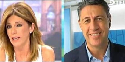 Esther Palomera y Xavier García Albiol.
