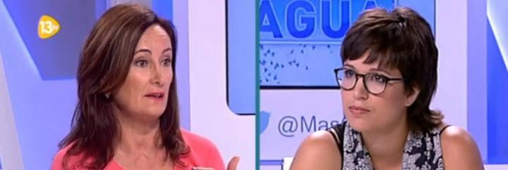 Edurne Uriarte (ABC) y Beatriz Talegón (Somos Izquierda).