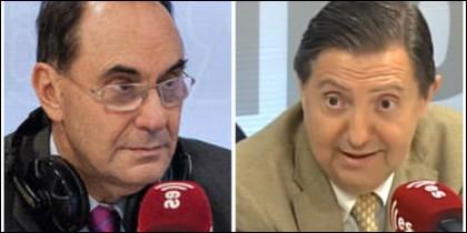 Alejo Vidal-Quadras y Federico Jiménez Losantos.