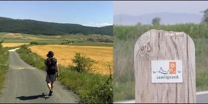 Senda del Camino Ignaciano