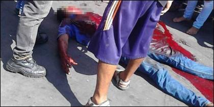 El joven asesinado en Venezuela