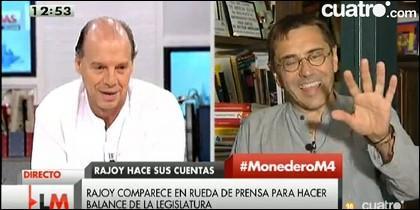 Jaime González y Juan Carlos Monedero.