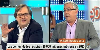 Francisco Marhuenda y Toni Bolaño.