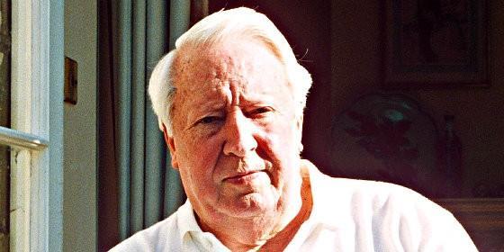 El ex primer ministro británico Edward Heath.