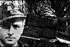 El capitán nazi alemán Michael Wittmann.