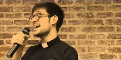 El padre Damián, en La Voz