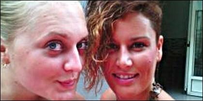 Marina Okarynska y Laura del Hoyo.
