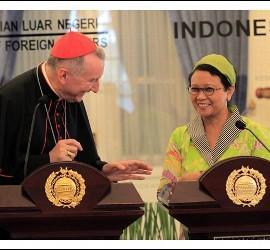 Pietro Parolin, enviado a Indonesia
