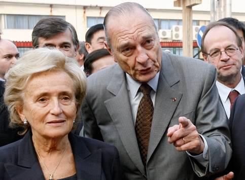 Resultado de imagen de chirac et bernadette