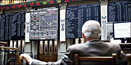 Bolsa, valores e Ibex 35.