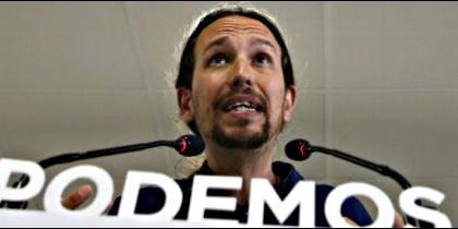 Pablo Iglesias, líder y candidato de Podemos.