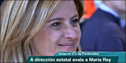 María Rey.