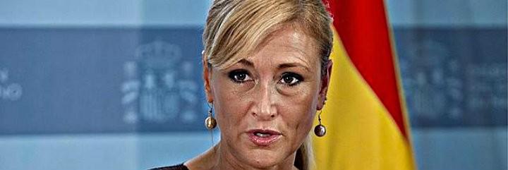 Cristina Cifuentes, presidenta de la Comunidad de Madrid y líder popular en ascenso.
