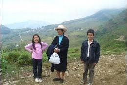 Pobladores de Perlamayo