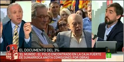 Eduardo Inda e Ignacio Escolar.