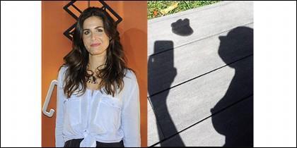 Nuria Roca y la foto de la polémica.