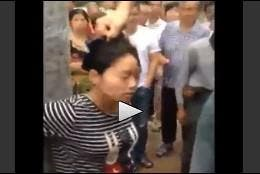 Escena del atroz vídeo