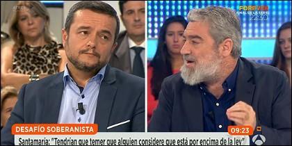Chema Crespo y Miguel Ángel Rodríguez.