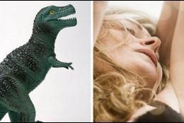 La mujer y el dinosaurio