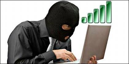 Hacker, Internet, wifi y robo de señal de Internet.
