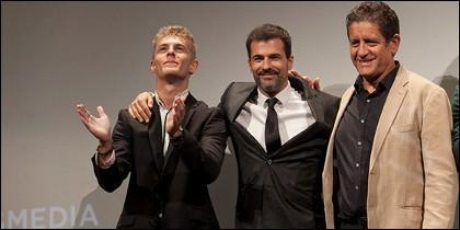 P. Criado, R.Sancho y P. Casablanc.