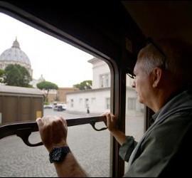 Del Vaticano a Castel Gandolfo en tren de vapor